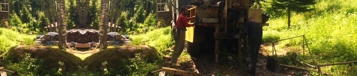 Drilling wells from PiterGeo